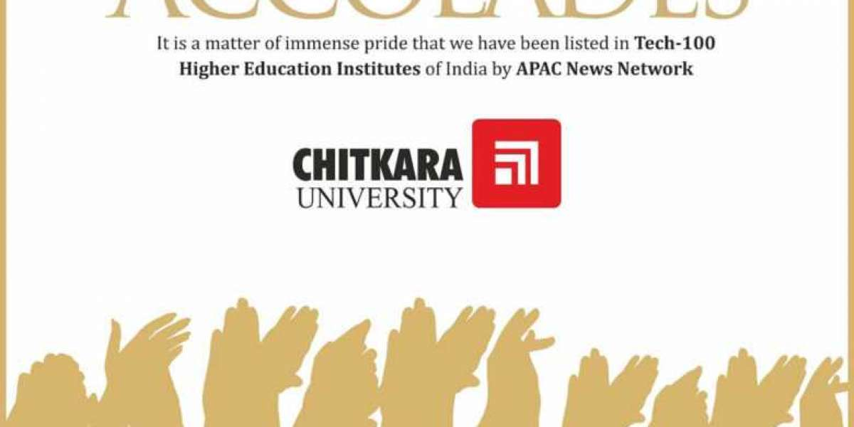 CHITKARA UNIVERSITY RANKS AMONG THE 'TECH-100 HIGHER EDUCATION INSTITUTES OF INDIA' BY APAC NEWS NETWORK