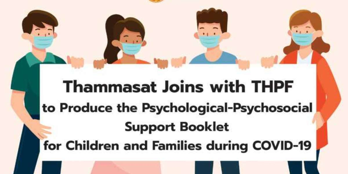 Thammasat Joins with THPF to Produce the Psychological-Psychosocial Support Booklet for Children and Families