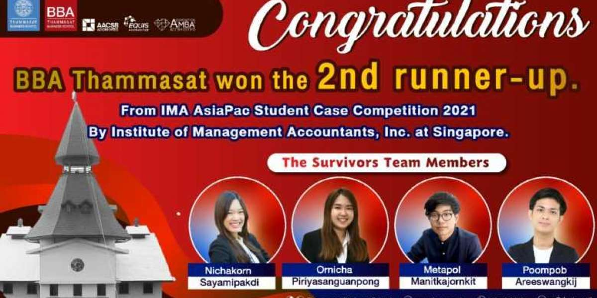 BBA Student Wins 2nd Place at IMA AsiaPac Student Case Competition 2021